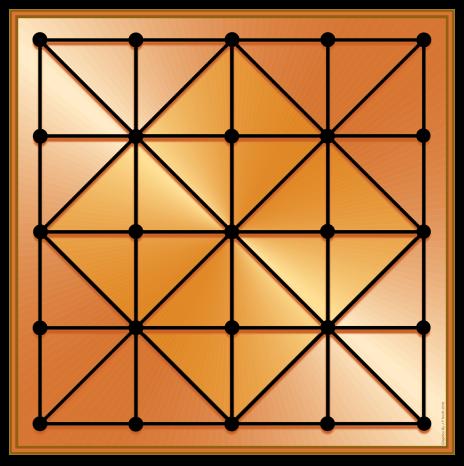 Alquerque Board