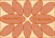 Mancala Wood Effect