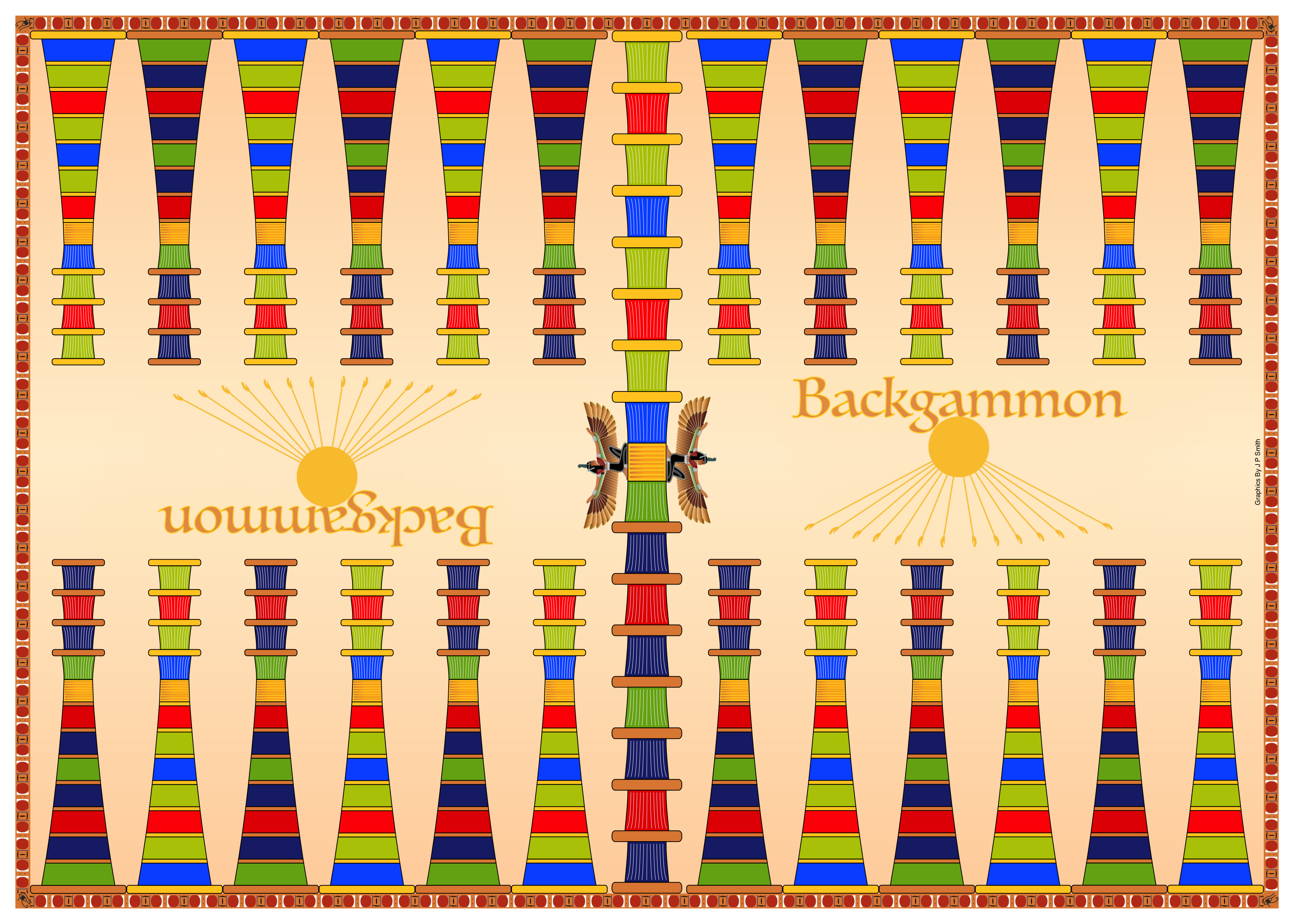 picture regarding Printable Backgammon Rules named Backgammon Laws, Way and Style and design A4 Online games