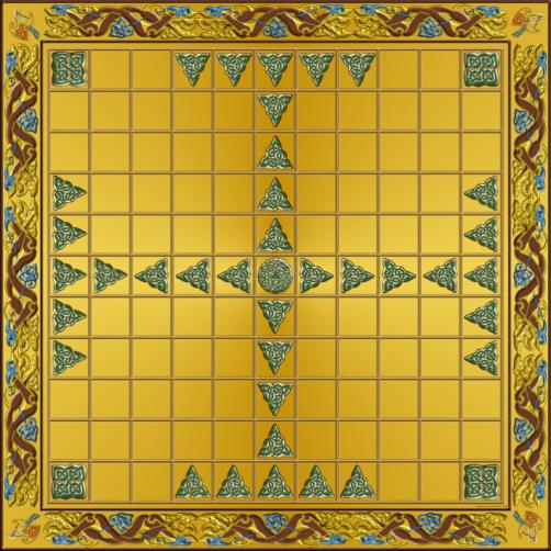 hnefatafl 11x11 board 72