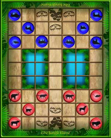 the jungle game layout