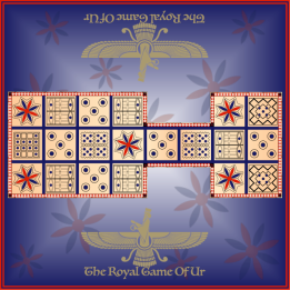 The Royal Game of Ur Board Square